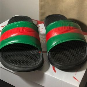 Nike Gucci customs